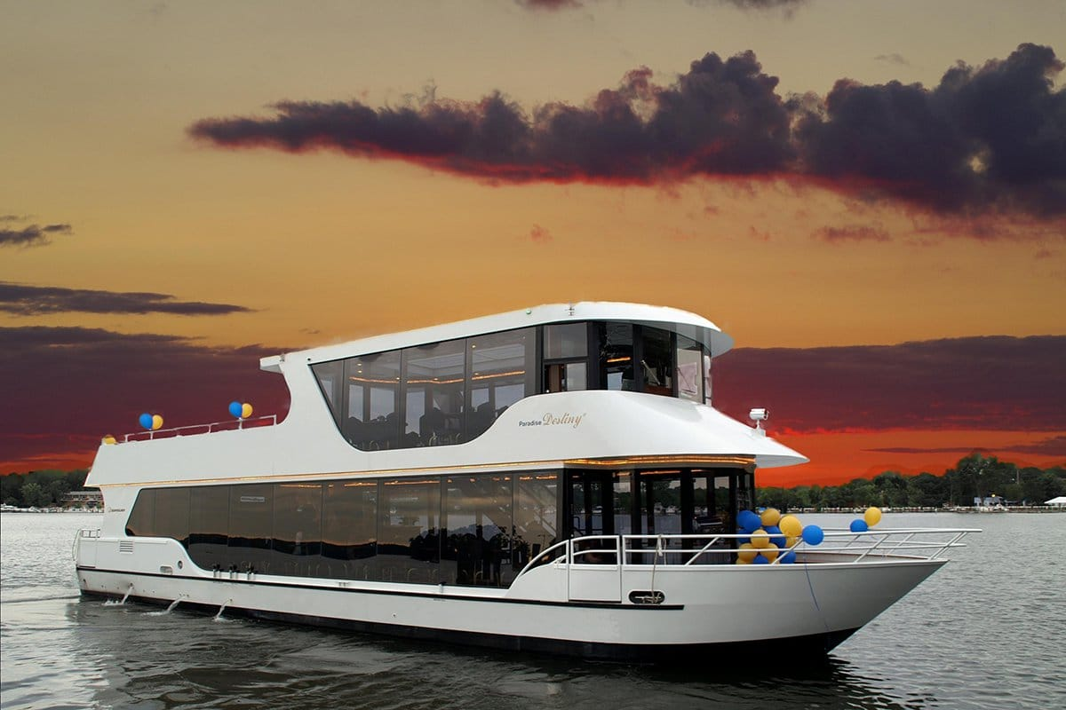 Paradise Destiny II - Paradise Charter Cruises - Minnetonka and Mississippi Private Charters